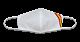 Mascarilla blanca Bandera.