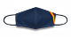 Mascarilla Azul Bandera. Mediano.